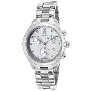 Ebel Women's White/Silvertone Sapphire/Stainless Steel Watch