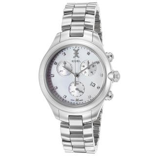 Ebel Women's White/Silvertone Sapphire/Stainless Steel Watch|https://ak1.ostkcdn.com/images/products/12046264/P18916518.jpg?impolicy=medium