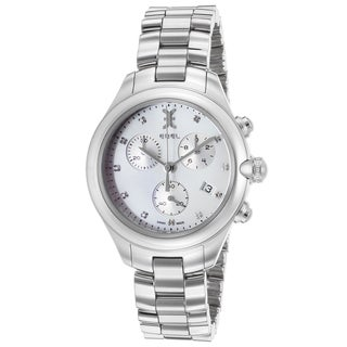 Ebel Women's White/Silvertone Sapphire/Stainless Steel Watch
