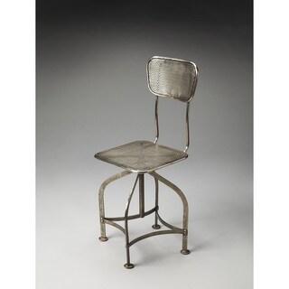 Handmade Butler Pershing Industrial Chic Swivel Chair (India)
