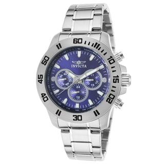 Invicta Men's Silvertone Stainless Steel Watch