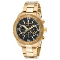 Invicta Men's 21470 'Specialty' Gold-tone Stainless Steel Watch