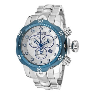 Invicta Silvertone Stainless Steel Watch