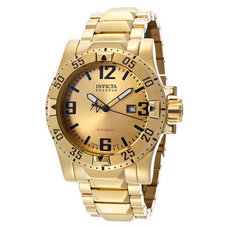 Invicta Reserve Goldtone Stainless Steel Watch