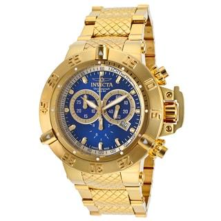 Invicta Men's Subaqua Goldtone Stainless Steel Chronograph Watch