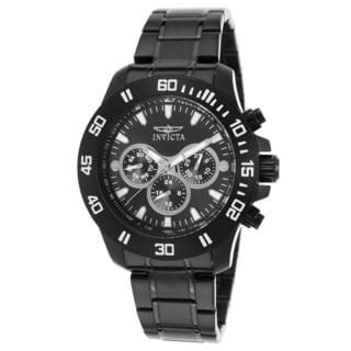 Invicta Black Stainless Steel Watch