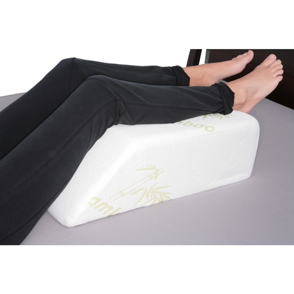multiple soft uses microfibre mattress large white aids be resistant body can comfort raiser in by product support the leg quilted used for wedge water bed acid tilter fabric reading and pillow raising reflux