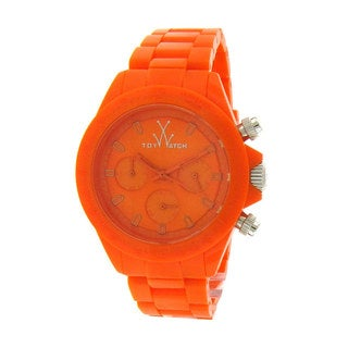 ToyWatch Women's Orange Plasteramic Bracelet Watch