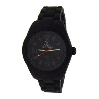 ToyWatch Women's Black Silicone Watch