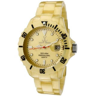 ToyWatch Women's Goldtone Plastic/Stainless Steel Water-resistant Quartz Watch
