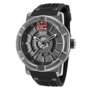 Elini Barokas Spirit Black Synthetic/Silicone/Stainless Steel Watch