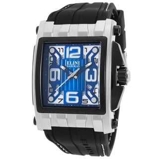 Elini Barokas Captain Blue/Black/White Synthetic/Silicone/Stainless Steel Watch