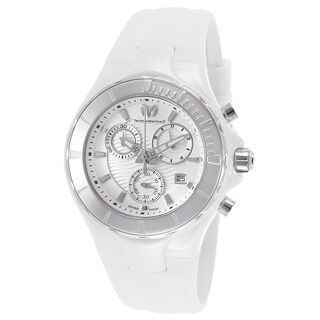 TechnoMarine Women's White Silicone Watch