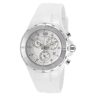 TechnoMarine Cruise White Mineral/Silicone/Stainless Steel Watch