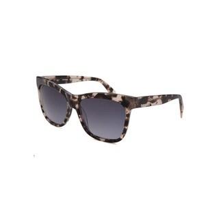 Diesel Tortoise Plastic Square Sunglasses