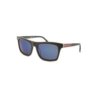 Diesel Men's Blue Plastic Square Sunglasses