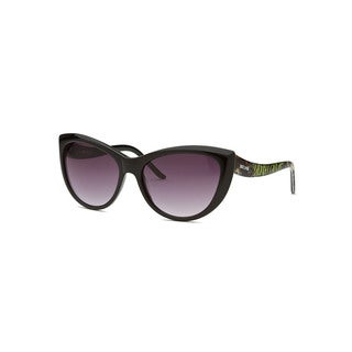 Just Cavalli Women's Black Cat-Eye Sunglasses