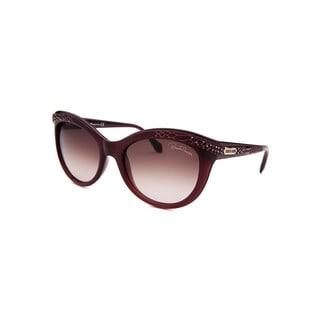 Roberto Cavalli Women's RCAVALLISUN-RC789S-81T-5 Brown Plastic Cateye Sunglasses