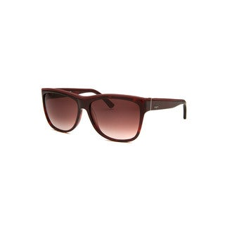 Tod's Women's Tortoise Plastic Square Sunglasses