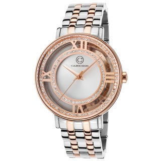 Cabochon Women's Stainless Steel Watch