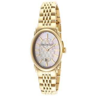 Dreyfuss & Co. Women's Goldtone Stainless Steel Watch
