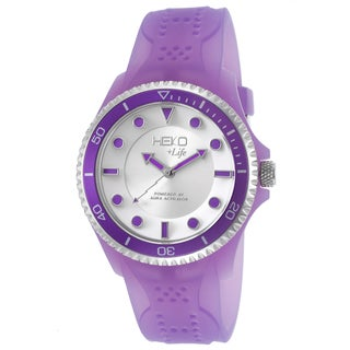 Heko +Life Women's Purple Resin Water-resistant Quartz Watch