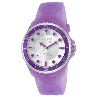 Heko +Life Women's Purple Resin Water-resistant Quartz Watch