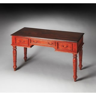 Butler Persimmon Painted Wood Writing Desk