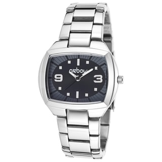 Oxbow Women's Silvertone Stainless Steel Watch
