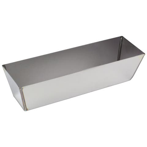 "10"" Heli-Arc Stainless Steel Mud Pan"