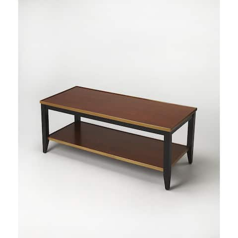 Butler Lambert Cherry-finish Wood/MDF Cocktail Table