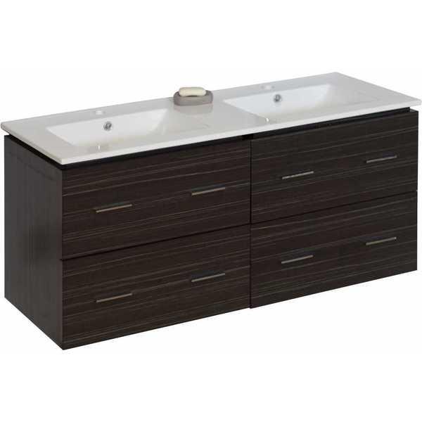 48 In W X 18 D Plywood Melamine Vanity Set