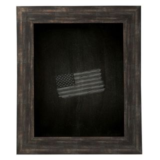American Made Rayne Brushed Classic Brown Blackboard/ Chalkboard