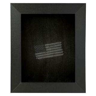 American Made Rayne Black Carbon Fiber Blackboard/ Chalkboard