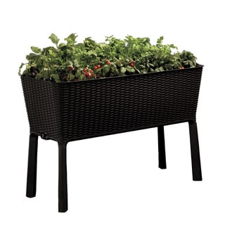 Keter Easy-grow Brown Plastic Elevated Patio Garden Bed
