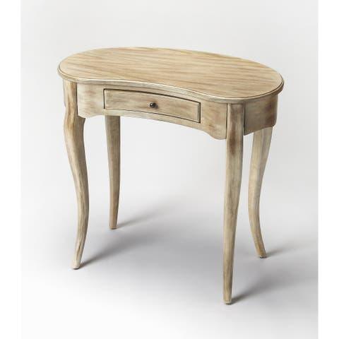 Handmade Butler Edgewater Antique Driftwood Writing Desk (China)