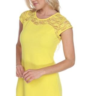 White Mark Women's Pelagia Dress (Option: L)