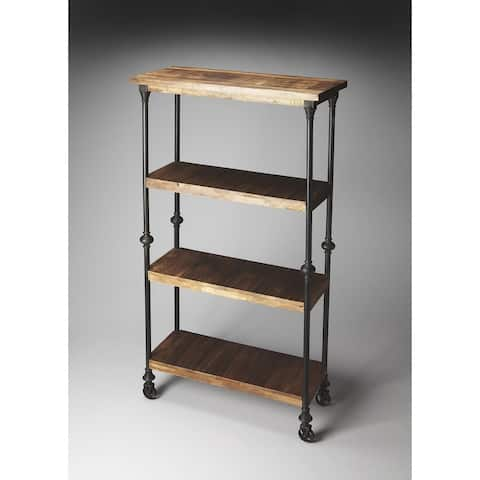 Handmade Butler Fontainebleau Industrial Chic Bookcase (India)