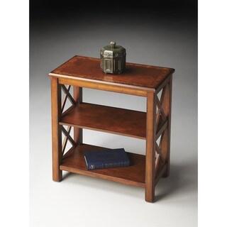 Butler Vance Olive Ash Burl Bookcase