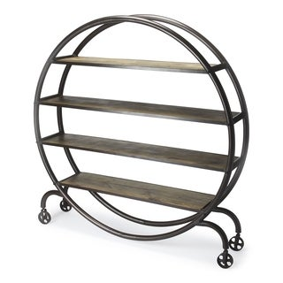 Butler Orion Industrial Chic Display Bookcase