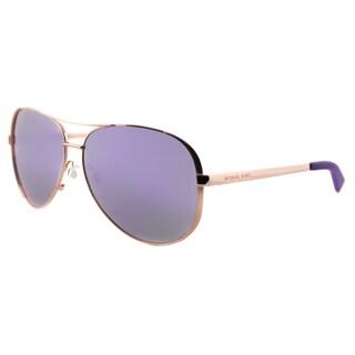 Michael Kors MK 5004 10034V Chelsea Rose Gold Metal Aviator Sunglasses With Purple Mirror Lens https://ak1.ostkcdn.com/images/products/12047164/P18916140.jpg?_ostk_perf_=percv&impolicy=medium
