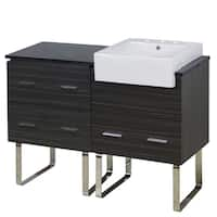 48-in. W x 20-in. D Plywood-Melamine Vanity Set In Dawn Grey - Dawn Grey