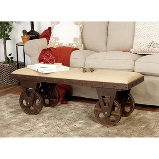 Industrial Portable Dressing Bench with Rolling Wheels