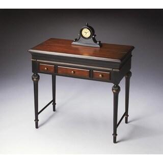 Butler Flanders Cafe Noir Brown Wood Laptop Desk