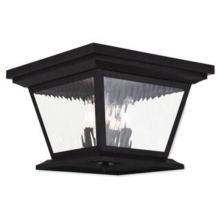 Livex Lighting Hathaway Bronze 4-light Outdoor Ceiling Mount