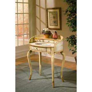 Butler Damosel Tuscan Cream Handmade Ladies Writing Desk (China)|https://ak1.ostkcdn.com/images/products/12047257/P18916803.jpg?impolicy=medium