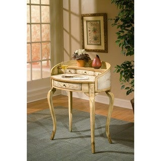 Butler Damosel Tuscan Cream Handmade Ladies Writing Desk (China)