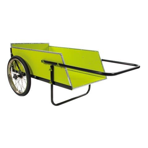 Sun Joe SJGC7 7 Cubic Foot Heavy Duty Garden + Utility Cart