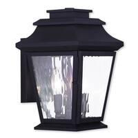 Livex Lighting Hathaway Bronze 2-light Outdoor Wall Lantern