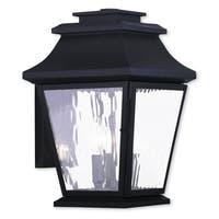 Livex Lighting Hathaway Bronze Brass 3-light Outdoor Wall Lantern
